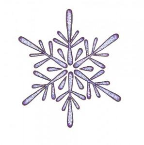 lapis blue snowflake mandala